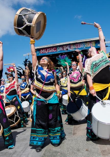 Katumba Bloco Drumming