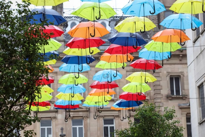 Opportunity for businesses to support Umbrella Project as celebrated art installation adds MediaCityUK to locations for 2018