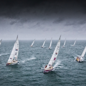Biggest Round The World Yacht Race Departs for Liverpool