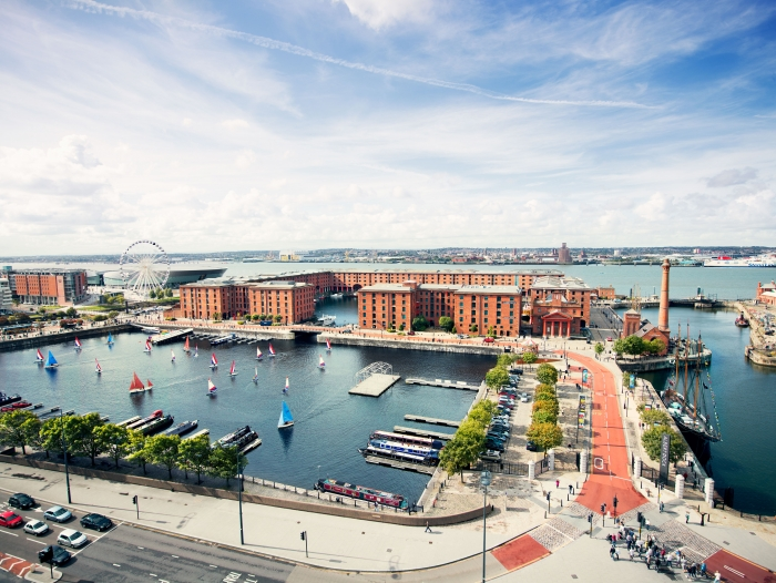 Albert Dock included in Lonely Planet's Ultimate United Kingdom Travellist 2019