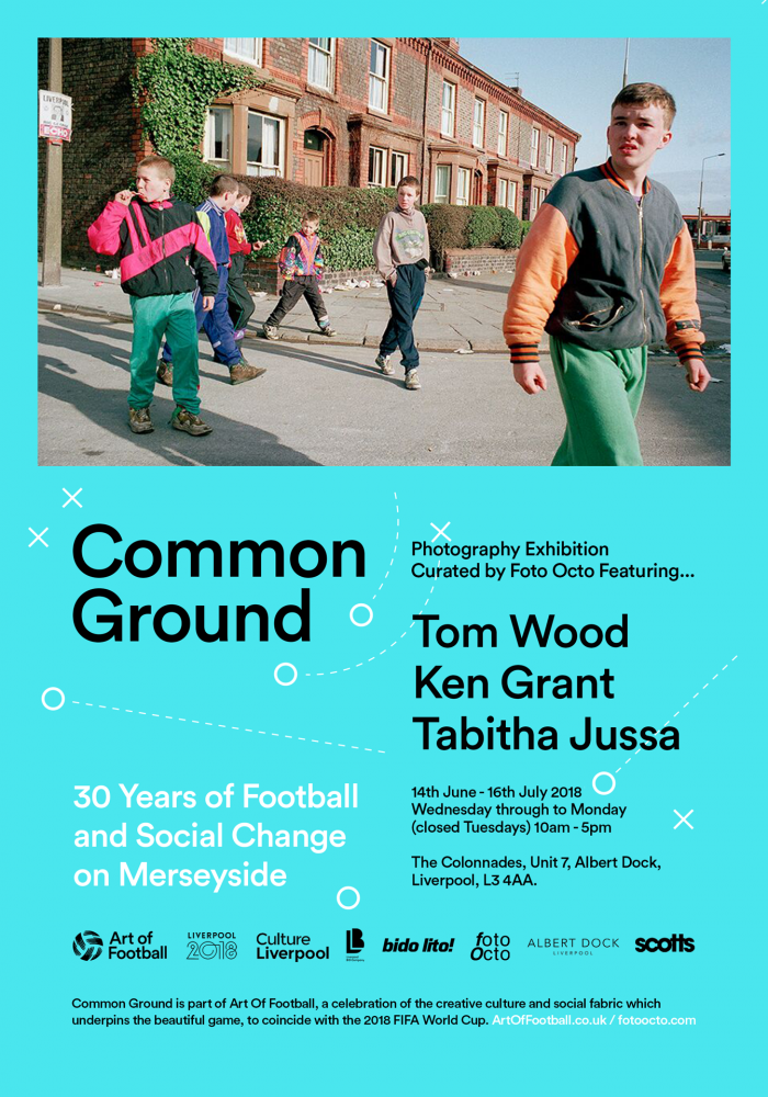 COMMON GROUND – four decades of football fan culture in photographs from Tom Wood, Ken Grant and Tabitha Jussa