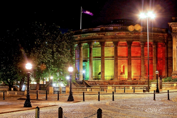 Iconic Buildings Illuminated This Week Ahead Of Liverpool Pride Festival