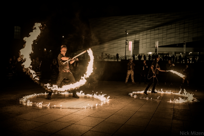BRING THE FIRE – Fire Display