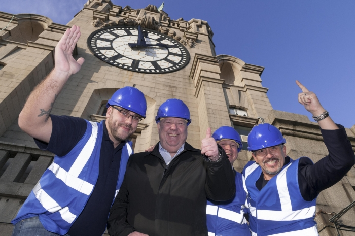 Liverpool's newest tourist attraction takes shape as city Mayor visits to check on progress