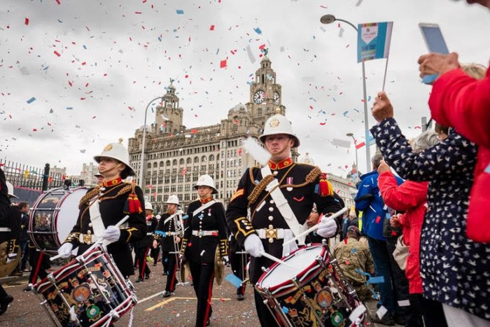 Attention! Liverpool is preparing to salute its Armed Forces community in style this year as it launches its best-ever Armed Forces Week.