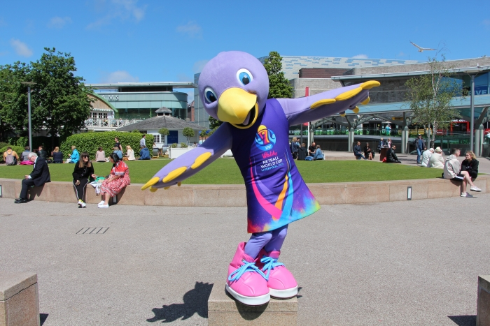 Netball World Cup Fan Park heads to Chavasse Park