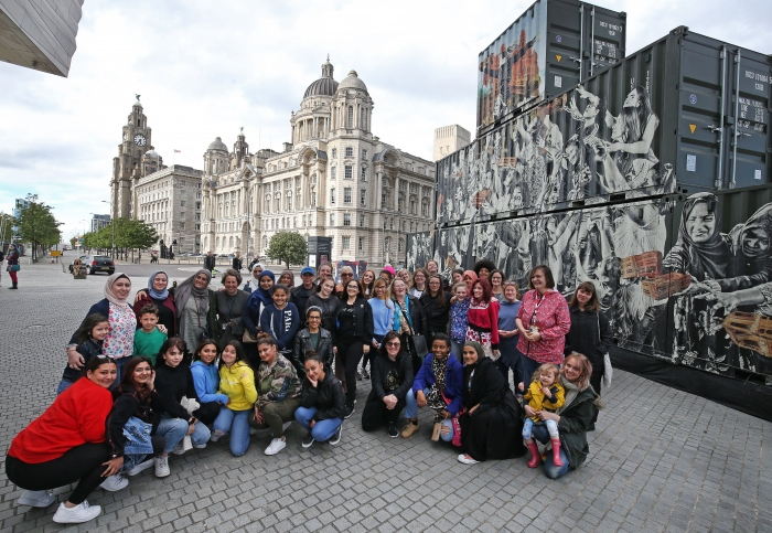 Liverpool: a landing stage for the world's best art, culture, music and entertainment.