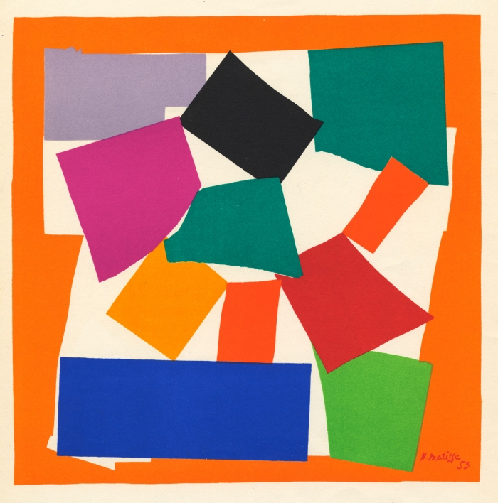 Matisse: Drawing with Scissors