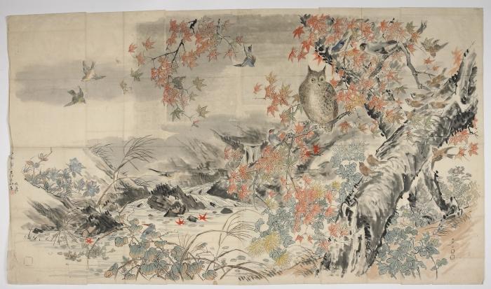 Drawing on nature: Taki Katei's Japan