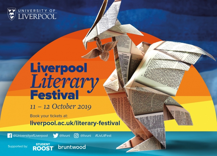 Liverpool Literary Festival 2019 line up revealed