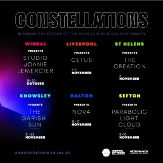 Constellations to come to earth and light up Liverpool City Region