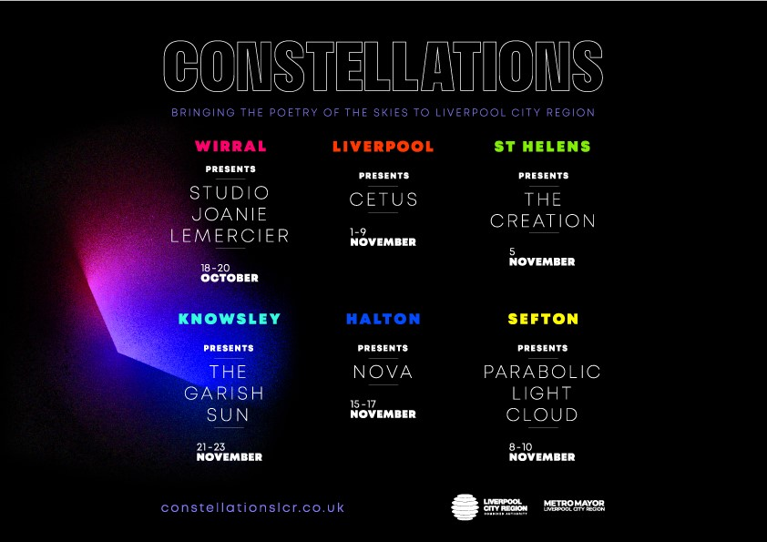 Constellations to come to earth and light up Liverpool City Region - Culture Liverpool
