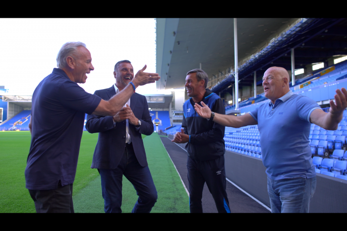 Everton's 1984-85 League and European Cup-winning side to reunite for screening of new Howard's Way film