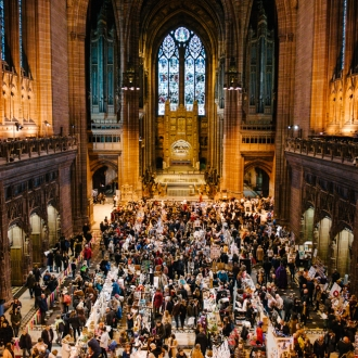 The Winter Arts Market returns to Liverpool Cathedral on Saturday 7 Dec 2019