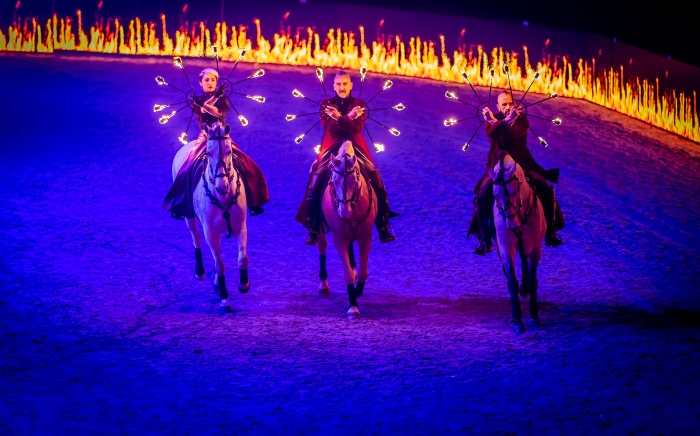Gilles Fortier To Premiere 'Magnetism' at the TheraPlate UK Liverpool International Horse Show