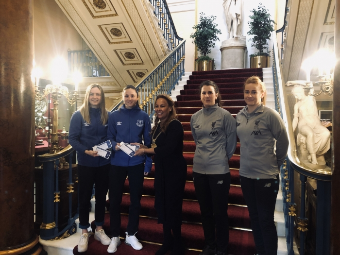"Lord Mayor of Liverpool hails Women's Super League Merseyside derbies for promoting ""equality for all"""