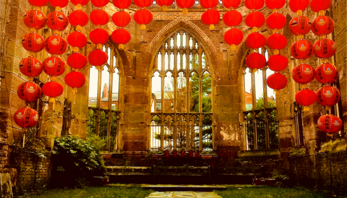 Chinese New Year At St Luke's Bombed Out Church