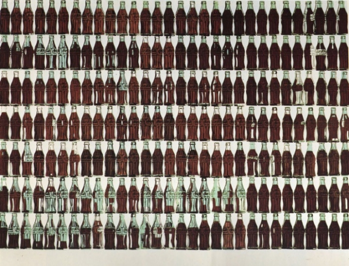 Andy Warhol: 210 Cola Bottles