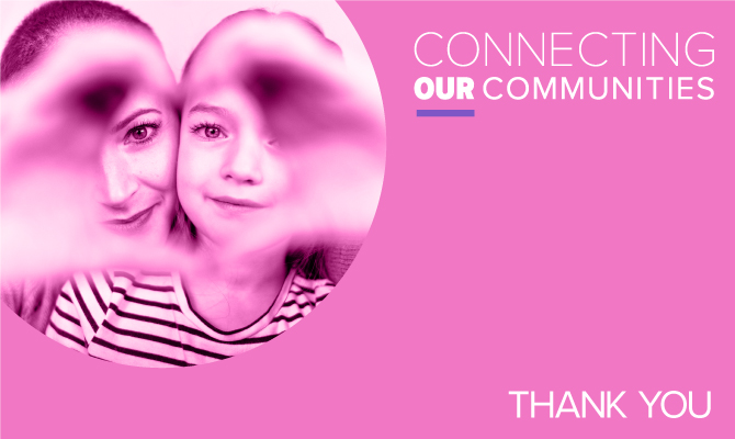 Connecting our Communities: Thank You