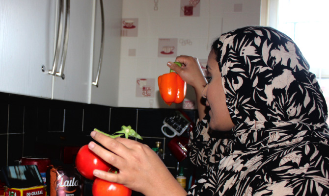 Amina Atiq: Cooking with Mum