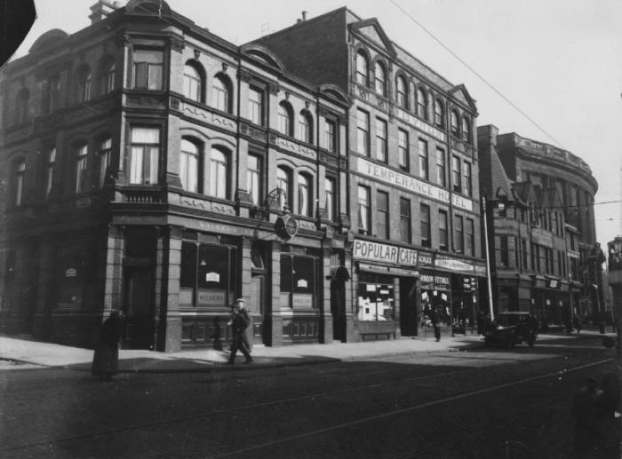 The Byrom Arms pub