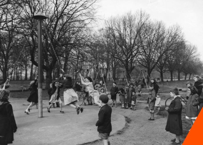 Sefton Park, 1954.