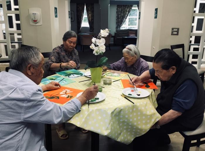 Chung Hok House: Arts For Health Exhibition
