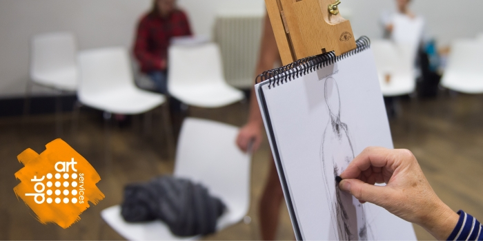 Life Drawing Course with Roy Munday run by dot-art