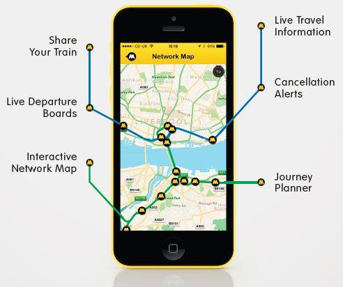 Merseyrail App