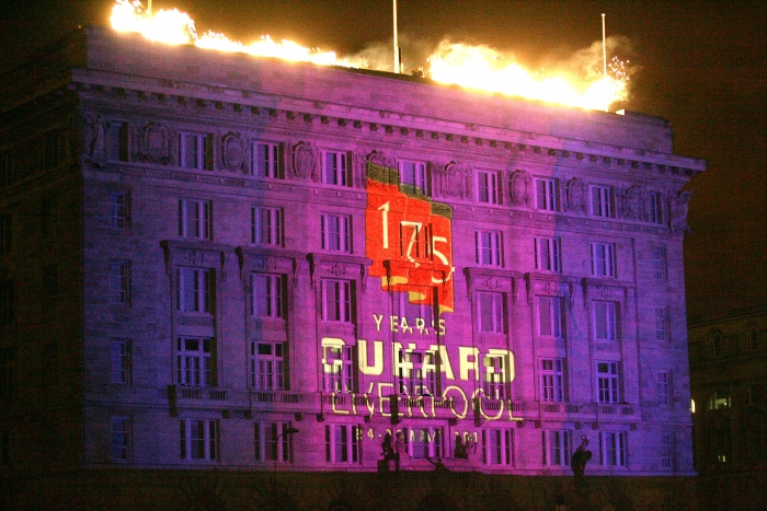 Cunard celebrates Freedom of the City of Liverpool