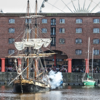 A very famous ship, stunts, children's entertainer Steve Royle and even a Strong Lady – there's lots to look forward to at this year's Pirates on the Dock!