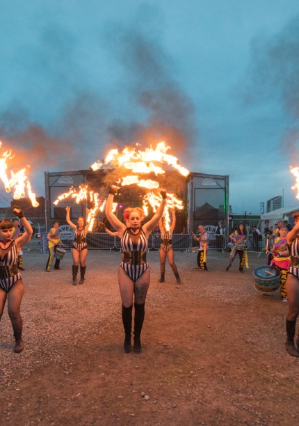 Bring the Fire Project & Liver Drummers – Wirral