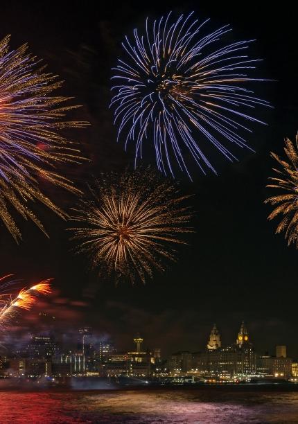 Fireworks – Liverpool