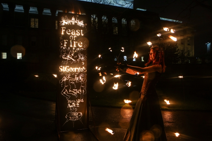 Feast of Fire launch evening programme in partnership with Liverpool's top cultural organisations