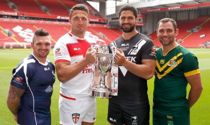 Rugby League Test England v New Zealand