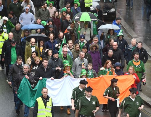 Liverpool St Patrick's Day Parade 2018