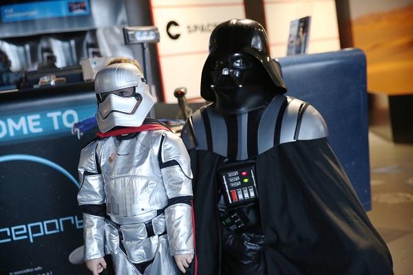 Become a Jedi Master at Spaceport's Jedi School this February Half Term