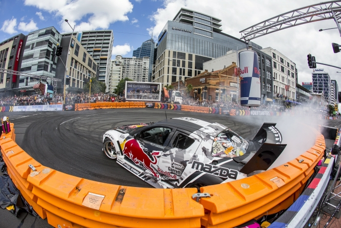 Red Bull Drift Shifters Roars into Liverpool