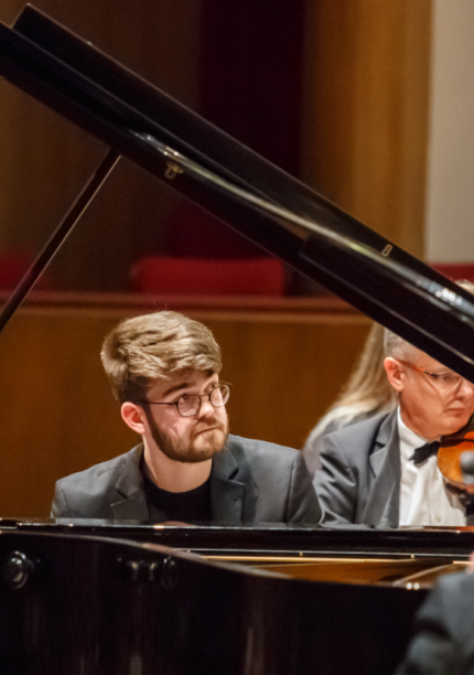 Piano Recital – Debussy Under the Moon by William Bracken