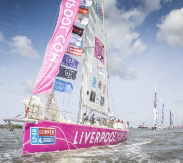 Around the world, and back again! Viewing cruise is planned for the return of the Clipper Race