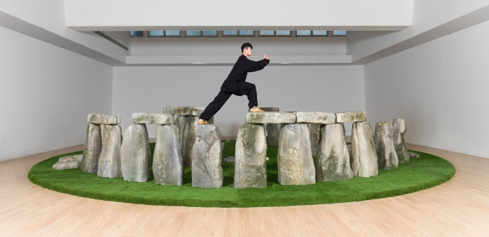 Shanghai artists take over Liverpool waterfront