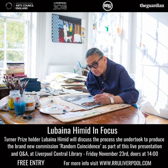 World Premiere artwork by Turner Prize Holder Lubaina Himid to be unveiled in Liverpool