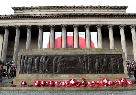 Remembrance at St George's Hall