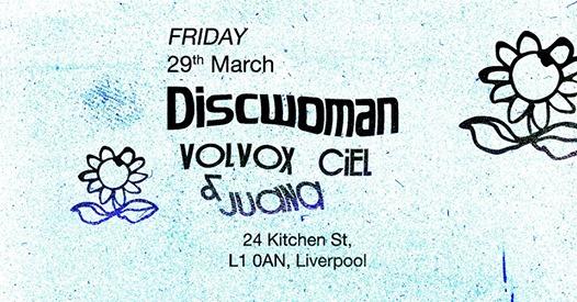 Discwoman: Volvox, Ciel & Juana