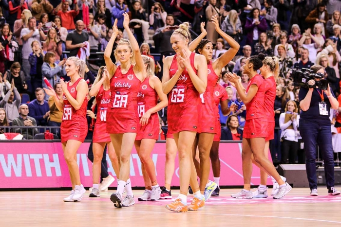 England Netball reveals its World Cup squad