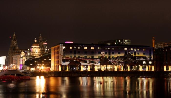 The Wonder of Christmas at Royal Albert Dock Liverpool