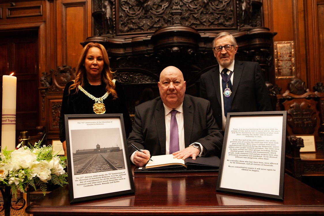 Liverpool will mark Holocaust Memorial Day on Monday 27 January with a special service at the Town Hall.