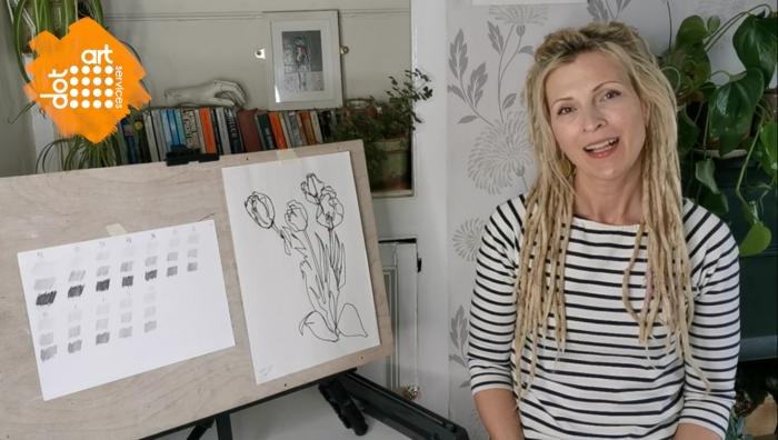 dot-art Launch NEW Online Art Classes