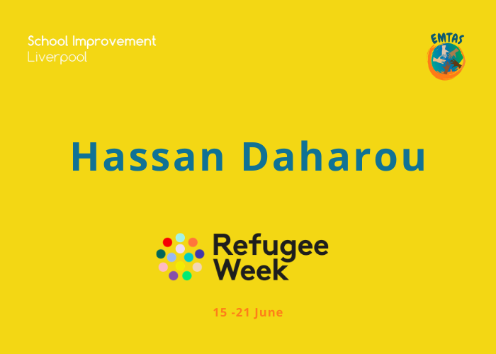 Hassan Daharou | Refugee Week
