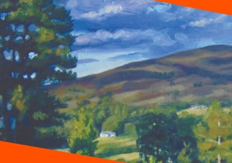 Landscape Painting En Plein Air